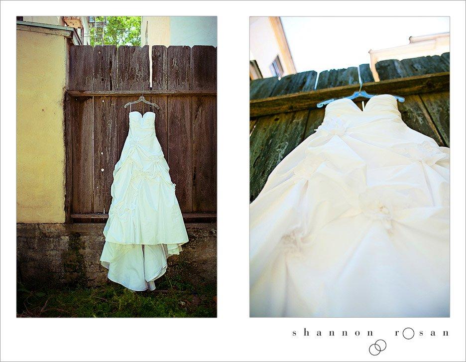 Andrea Melville's Wedding Dress