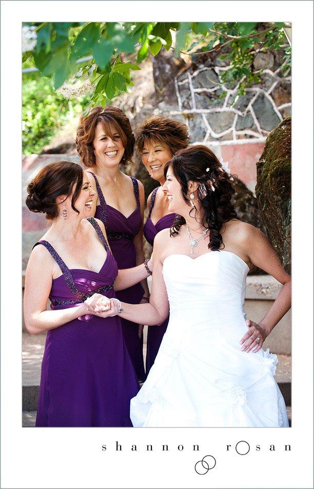 Andy and Bridesmaids