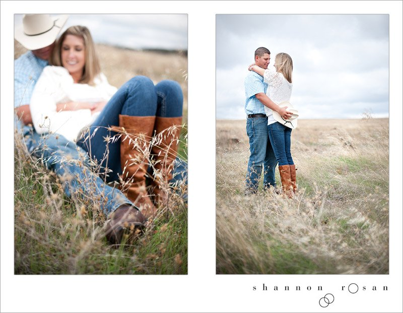 Rustic Chic Engagement Session 11