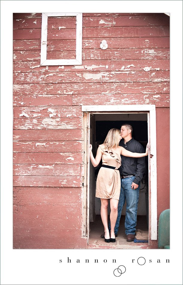 Rustic Chic Engagement Session 6