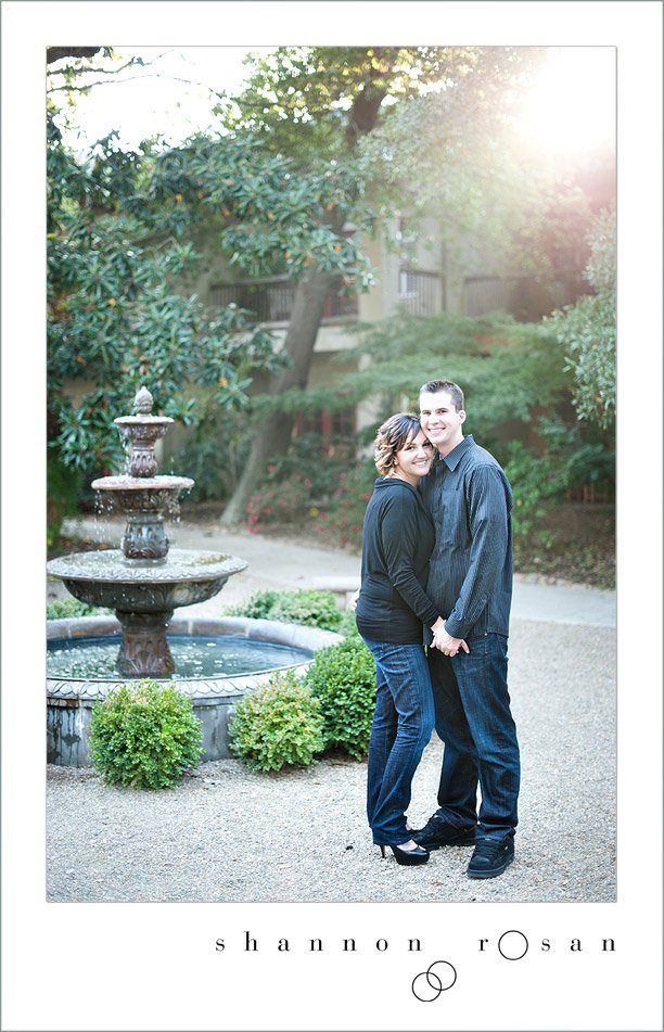 wine and roses engagement lodi 2