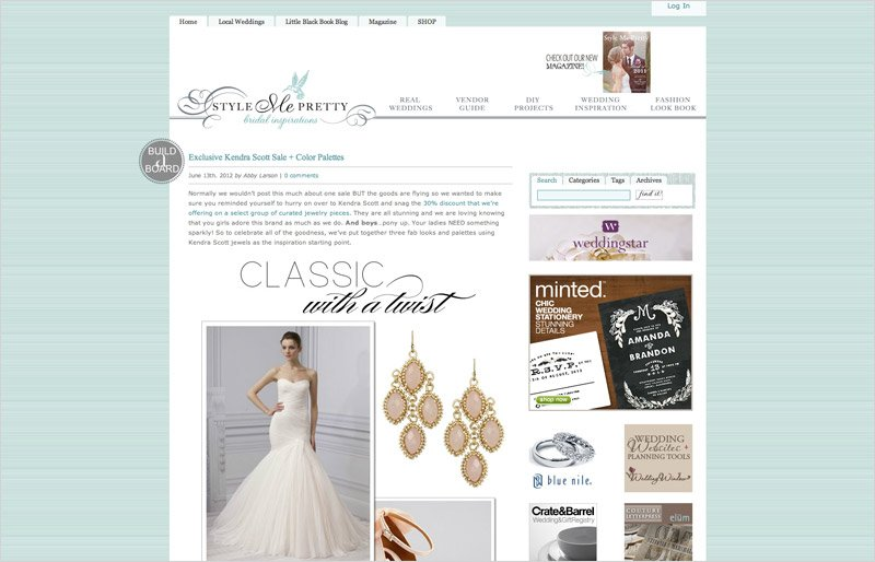 For the brides wedding blogs chico wedding photographer style me pretty junglespirit Image collections