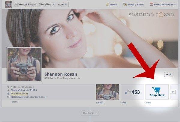 Shannon Rosan Facebook Fanpage