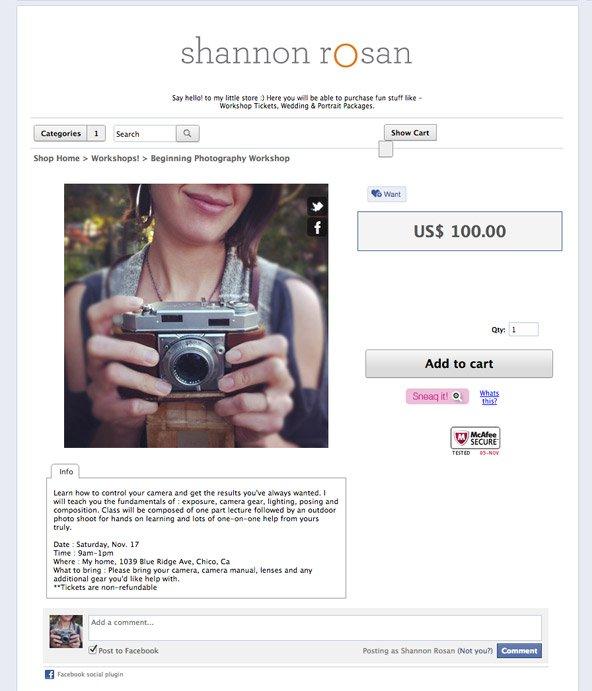 SShannon Rosan Photography Beginning Photography Class 2