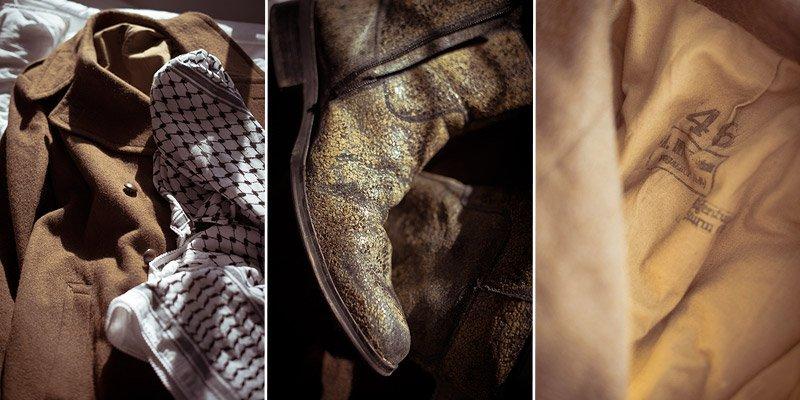 Milan Rosan's Coat, Schmag & Boots