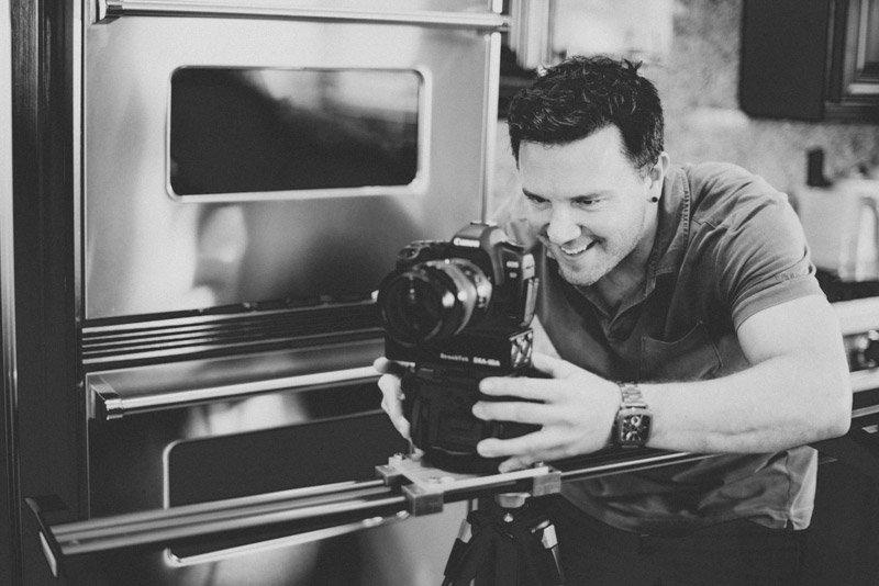 Videographer Brent Holland filming for Build.com.