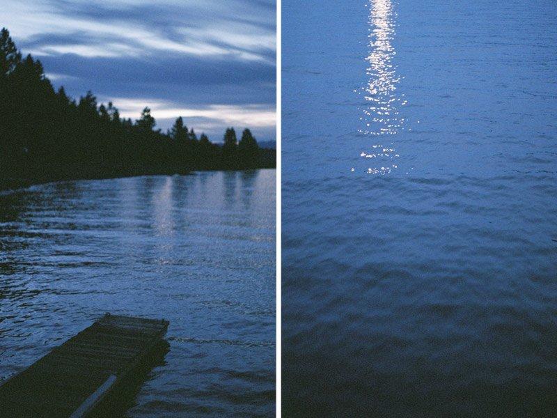 The docks at Lake Almanor, Ca