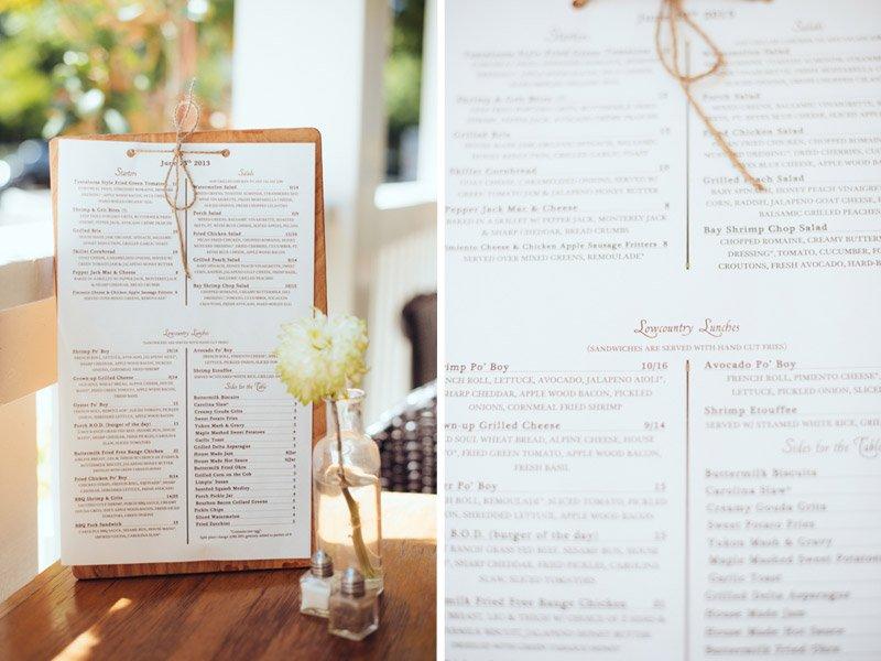 Photo of The Porch Sacramento, Ca menu