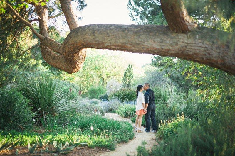 UC Davis Arboretum engagement session