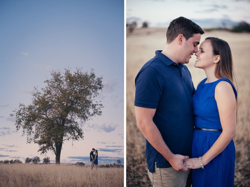 engagement session in upper bidwell park