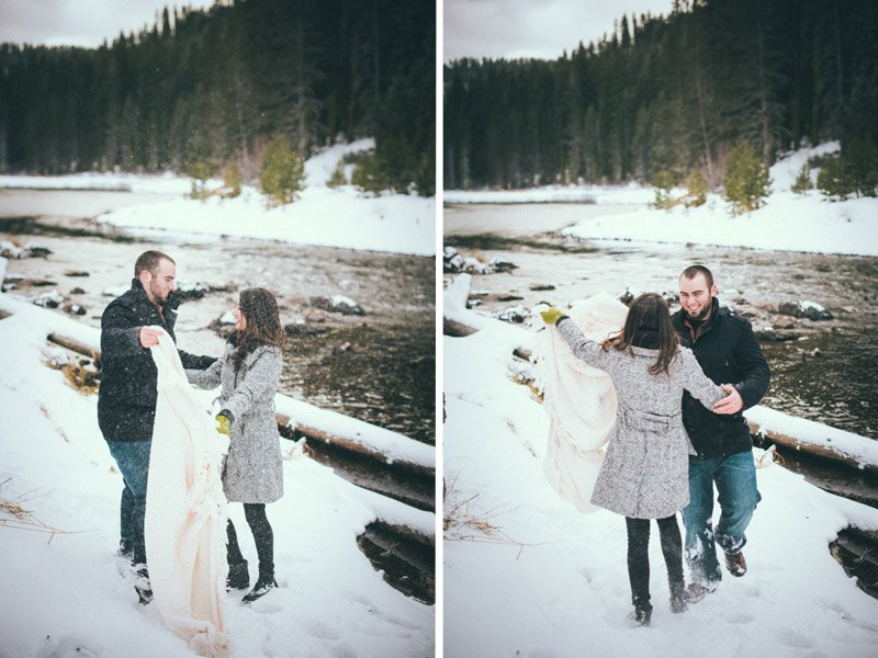 Candid Truckee Engagement Photography