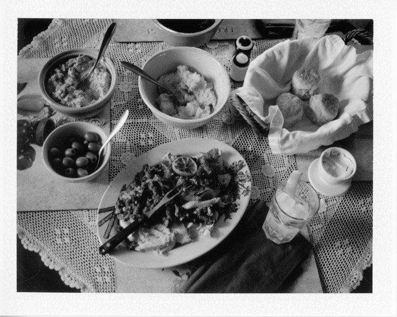 family-dinner-fuji3000b-polaroid