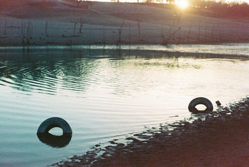 Landscape on expired 35mm Kodak film