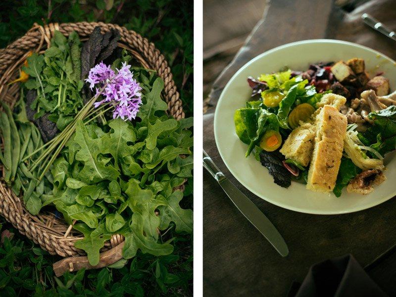 lunch at O'o farm