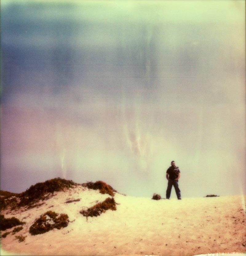 Polaroid of Milan Rosan