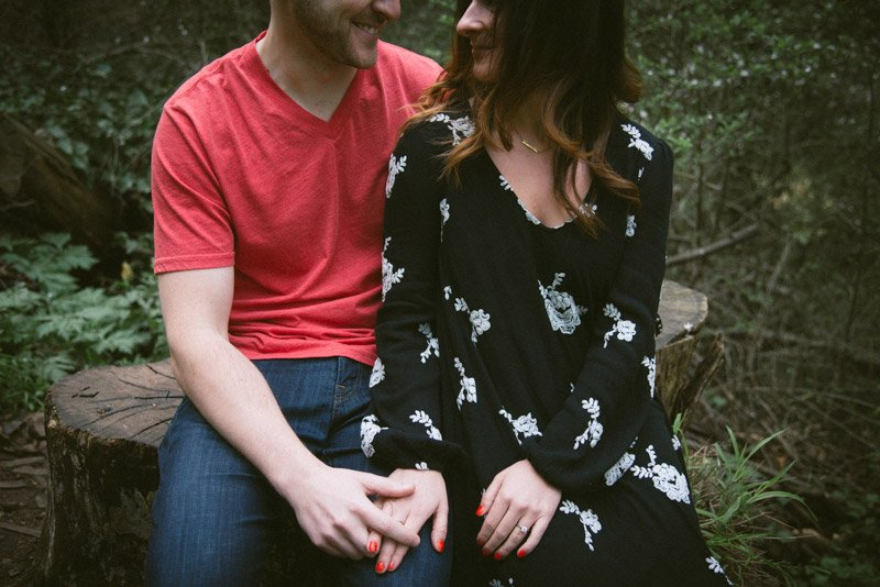 Sutro Forrest Engagement Photos