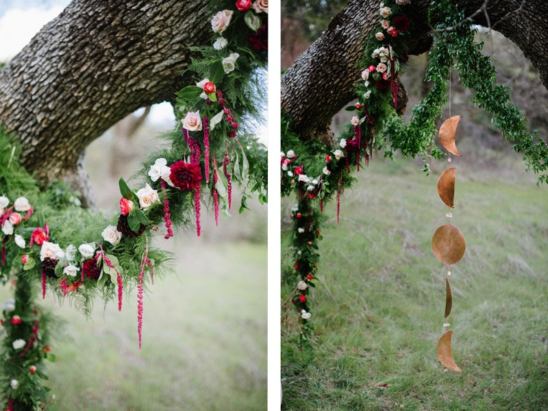 Eco Friendly Wedding with Marsala | Photography by Shannon Rosan