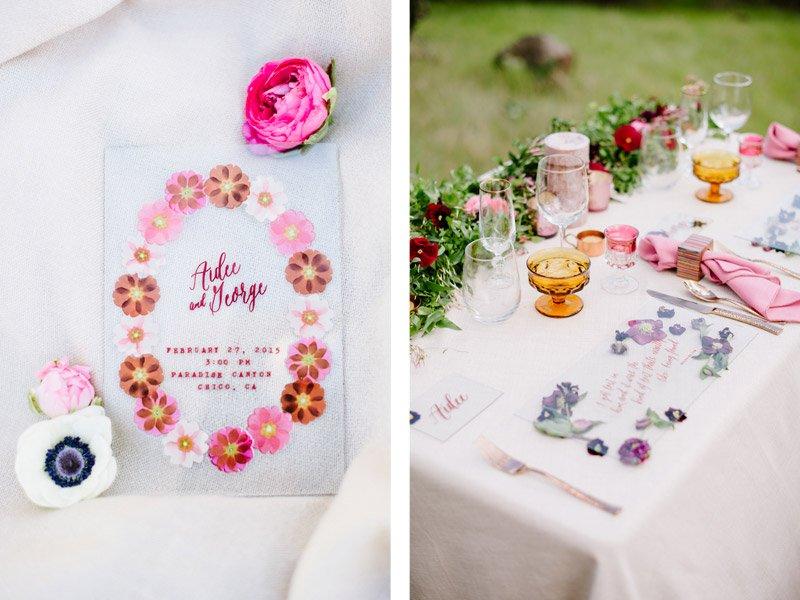 Glass Wedding Invitation by The Idea Emporium