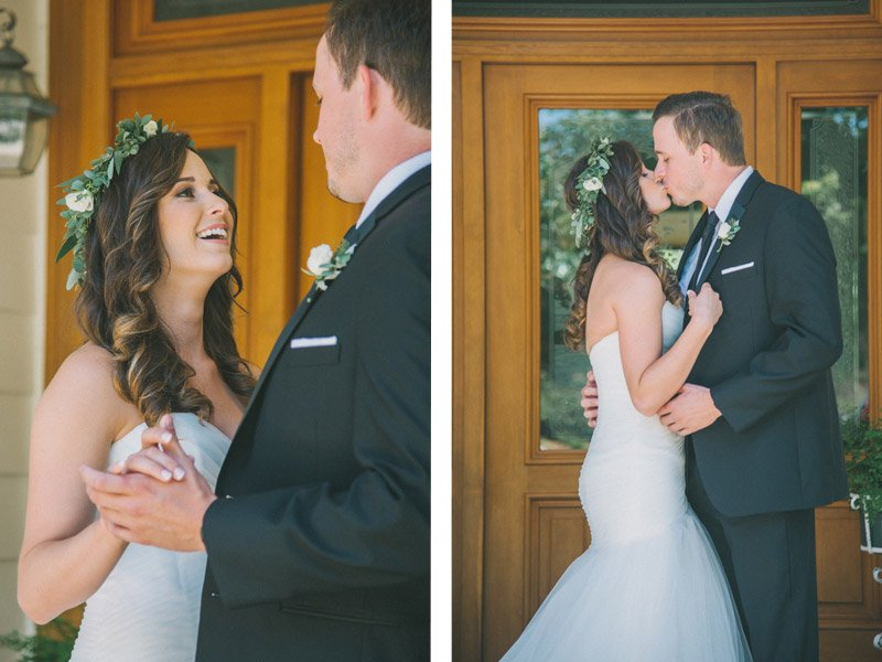 First Look - Wedding Photography by Shannon Rosan