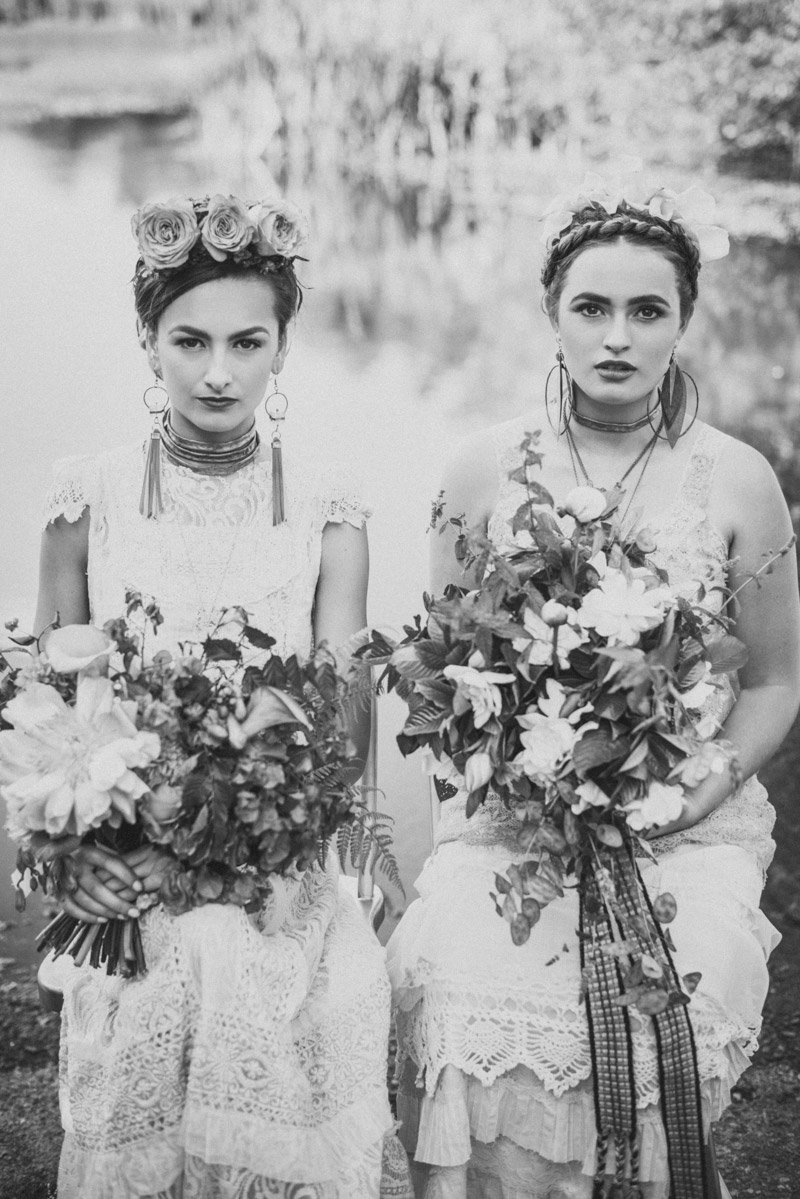 Wedding Photography by Shannon Rosan - rosanweddings.com - #fridakahlo #weddinginspo #bride