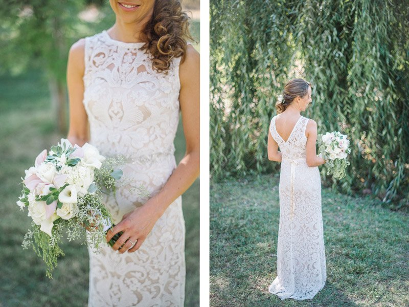 BHLDN Wedding dress - Photography by Shannon Rosan, rosanweddings.com #weddingdress #BHLDN