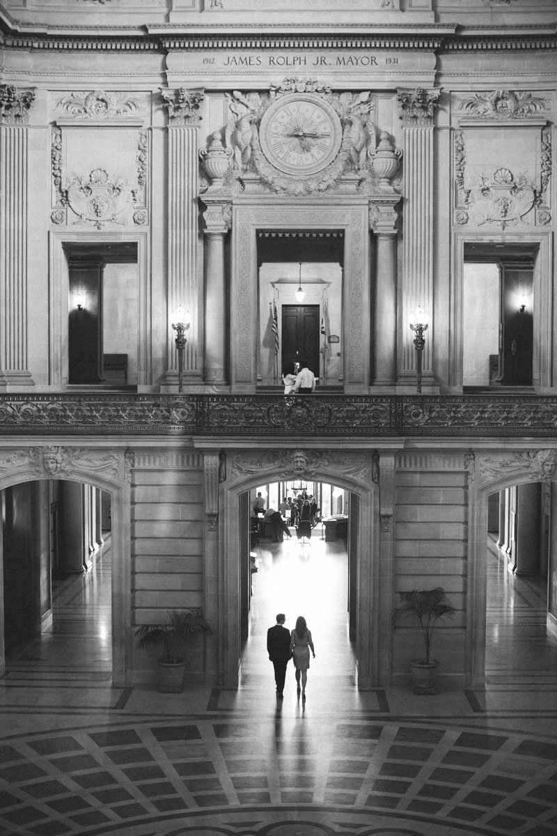 San Francisco City Hall Engagement Photography by Shannon Rosan - rosanweddings.com