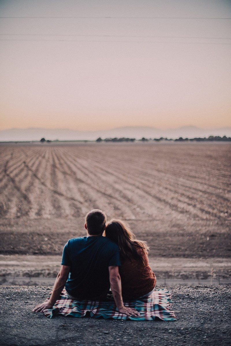 Chico, Ca Engagement Photographer | Shannon Rosan, rosanweddings.com | #farmengagement #engagementphotography
