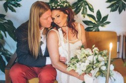 70s Inspired Wedding | Shannon Rosan Photography, rosanweddings.com #70s #wedding