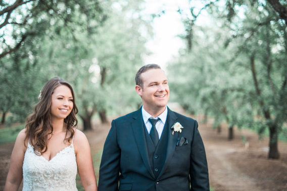 Chico Wedding Photographer | Modern Almond Orchard Wedding | Shannon Rosan