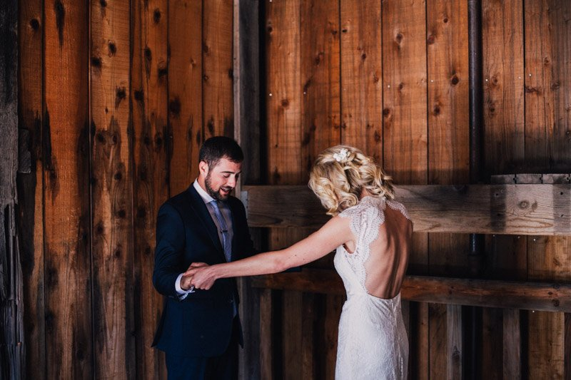 First Look at Sugar Bowl Wedding | Shannon Rosan Photography