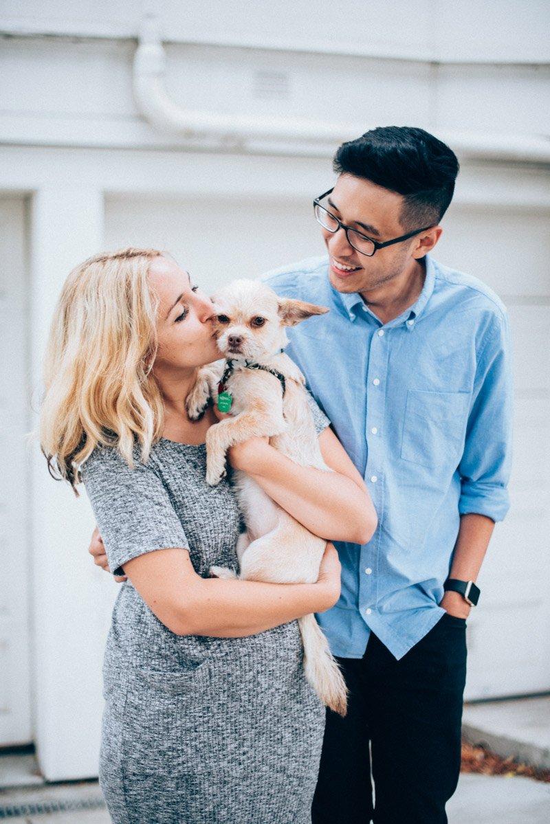 San Francisco Lifestyle Engagement Photographer | rosanweddings.com