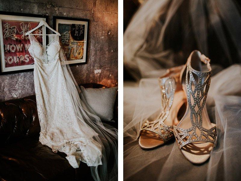 Bridal Details at Pier 2620 Hotel