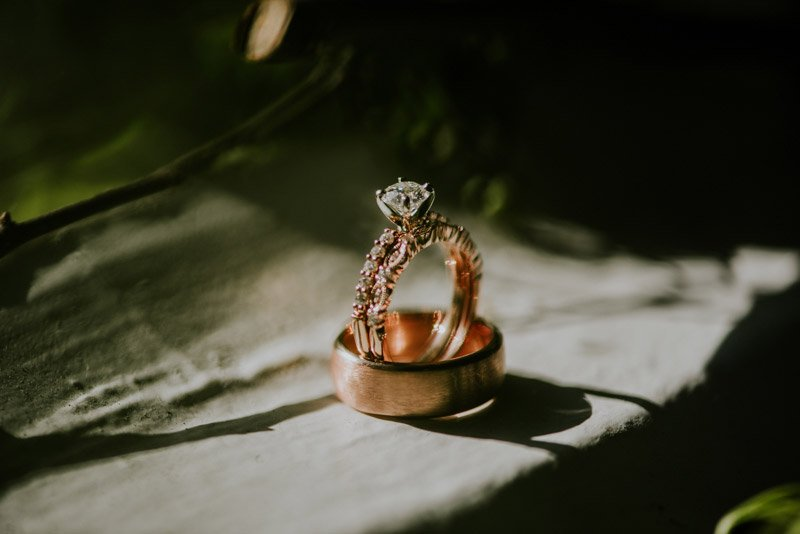 Wedding Ring detail at gallery 308