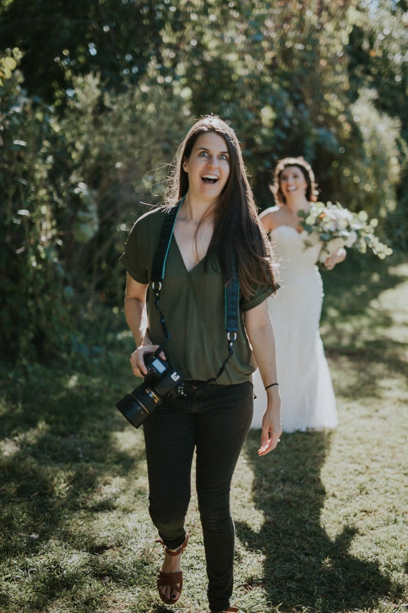 Behind the scenes of Wedding Photographer