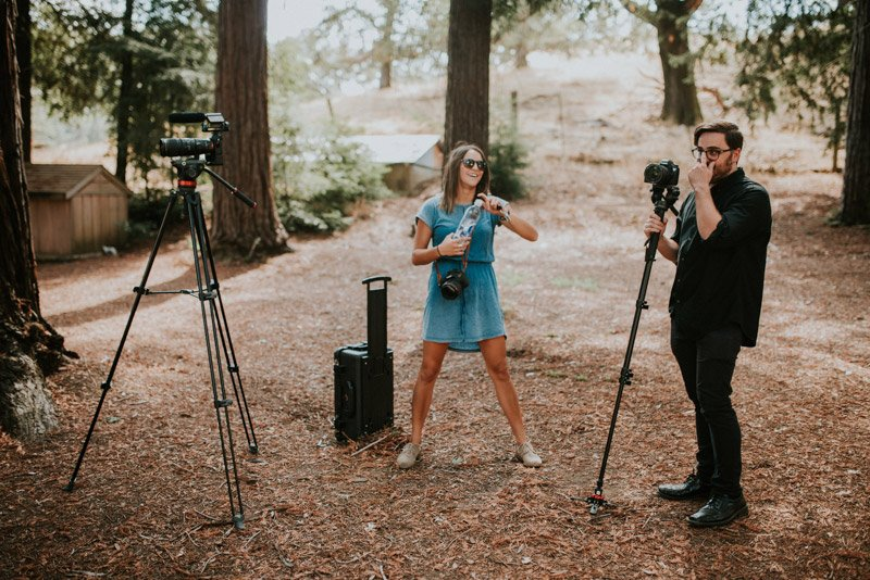 Wedding Photographer and Wedding Videographer | Behind the Scenes