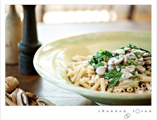 Lundberg Penne Pasta with Mushrooms