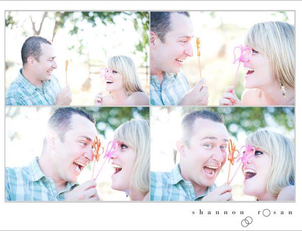 California Engagement Session with Bubbles, Dan & Rebekah