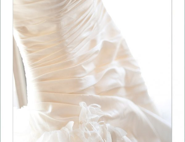 Wedding Gown at Canyon Oaks Country Club Chico, Ca