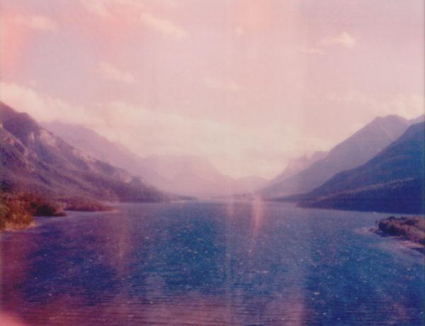 Waterton Lakes Polaroid