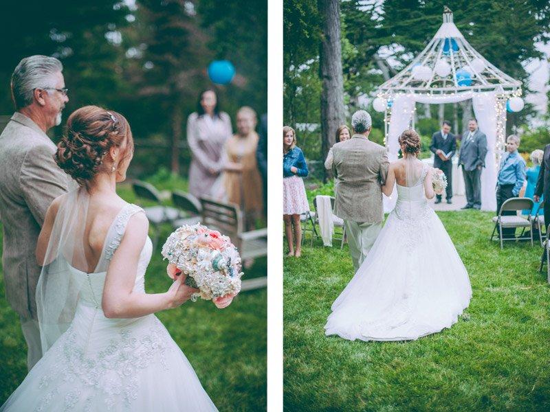 Small Outdoor Wedding Ceremony Carmel Ca Chico Wedding