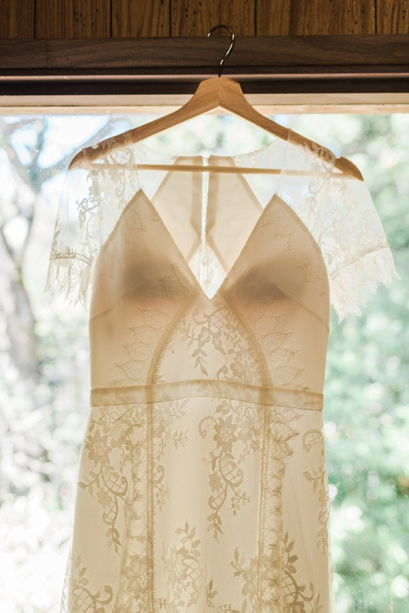 OVY Camp Wedding | Lace wedding dress