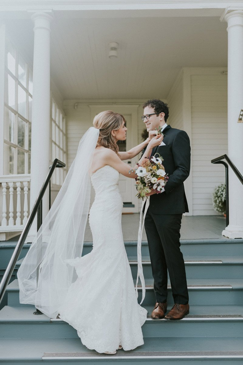 Log Cabin Presidio San Francisco Wedding