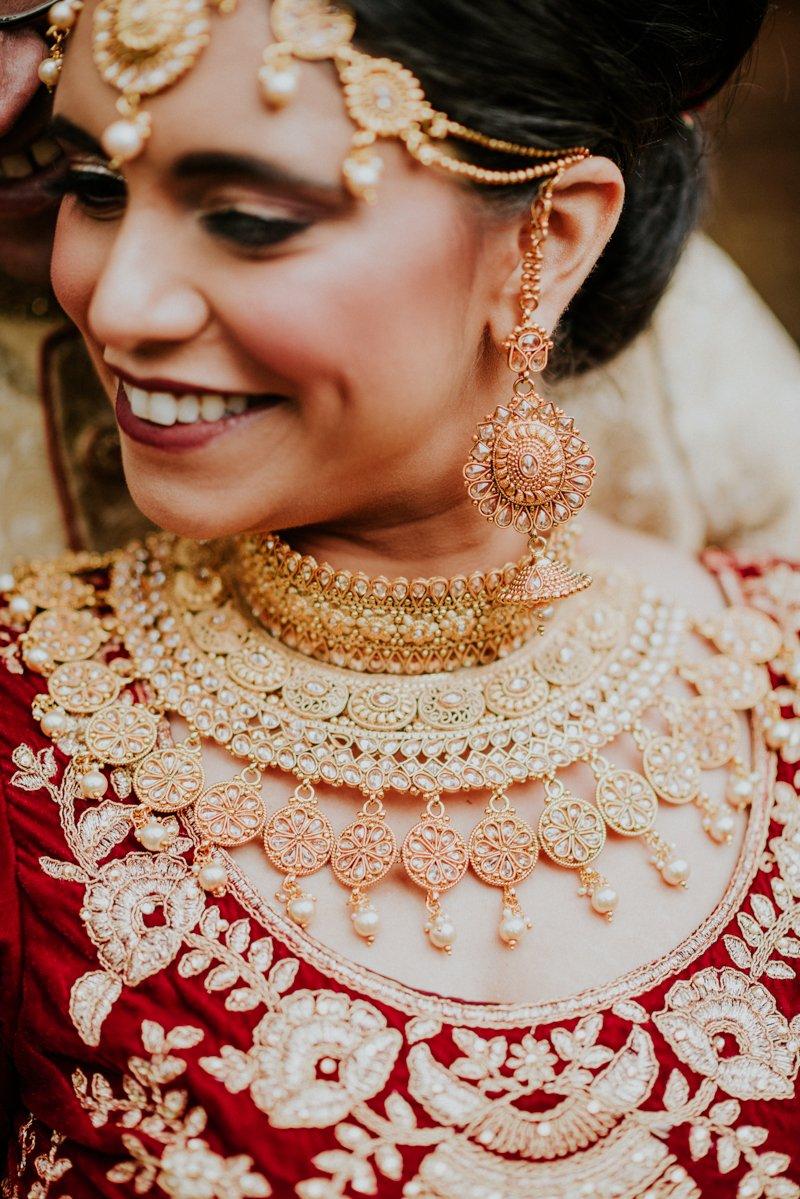 Deer Park Villa Wedding, Indian Wedding jewelry