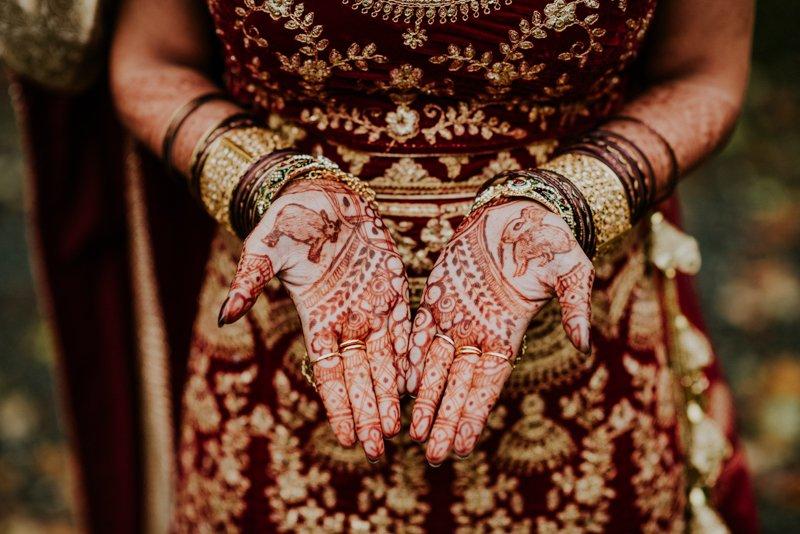 Unique Henna Designs for wedding