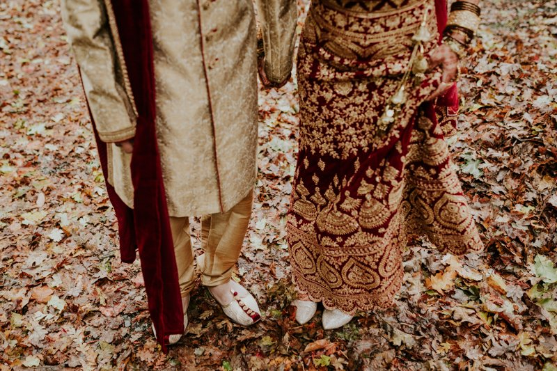 Deer Park Villa Wedding, Indian Wedding Attire