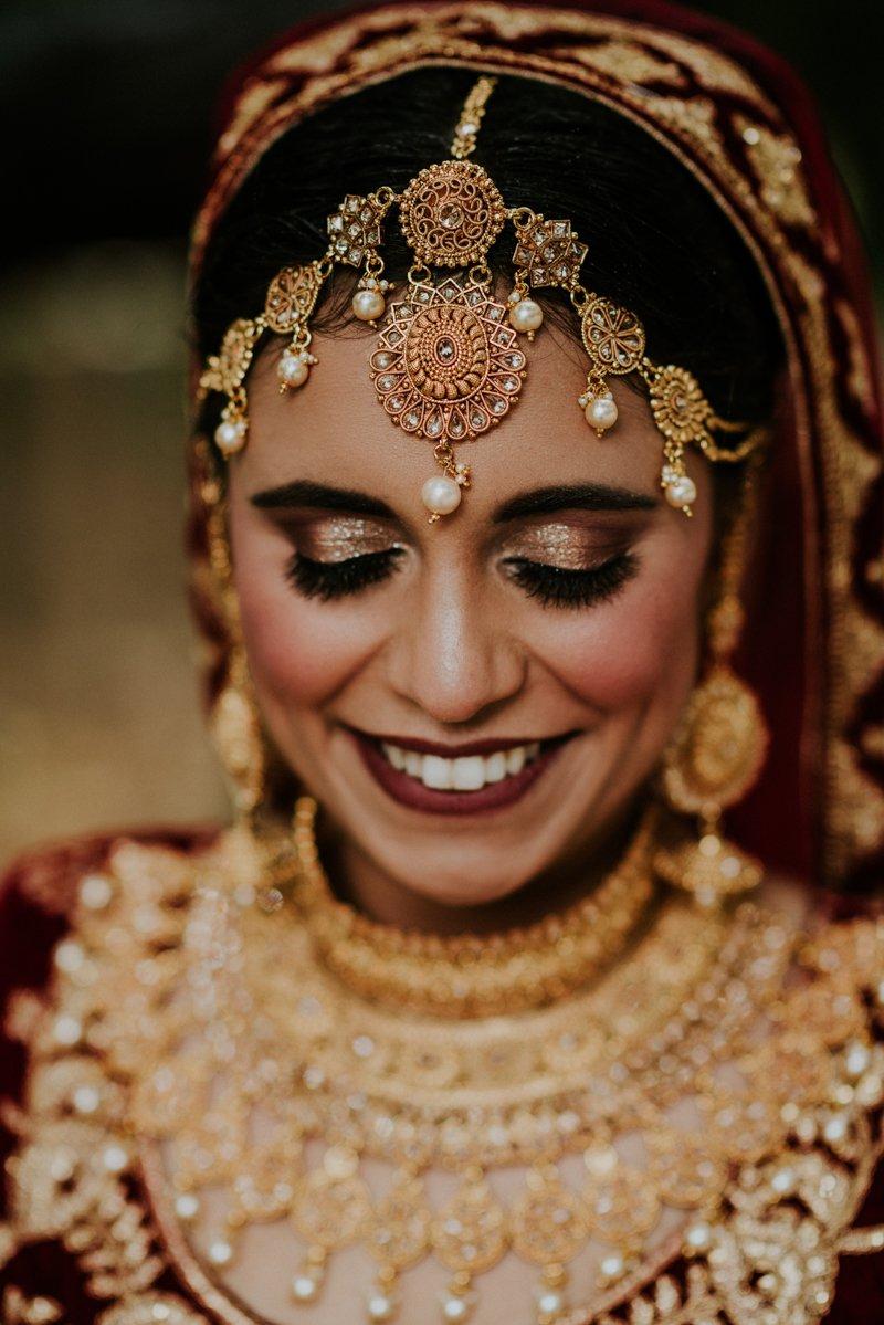 Deer Park Villa Wedding, Indian Bride