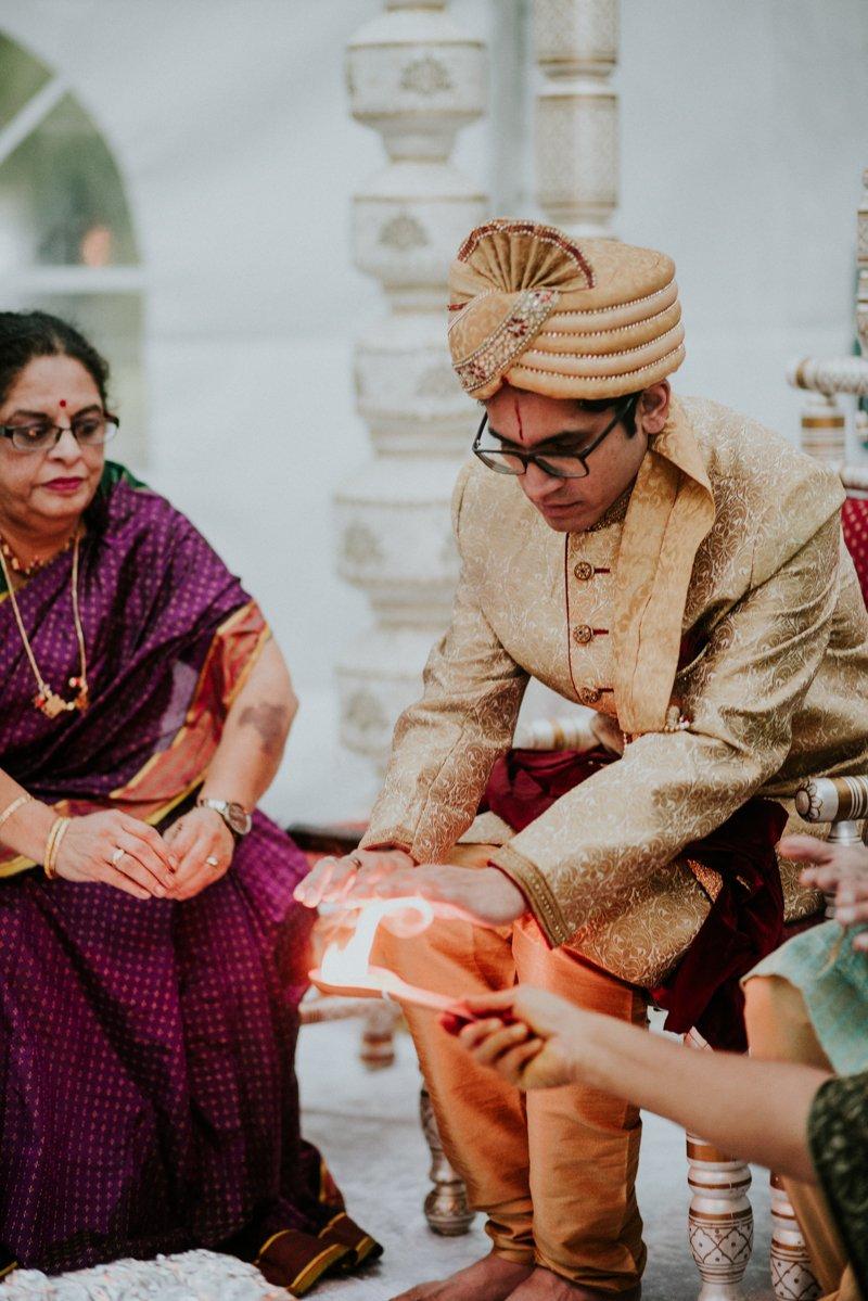 Deer Park Villa Wedding, Indian Wedding Ceremony
