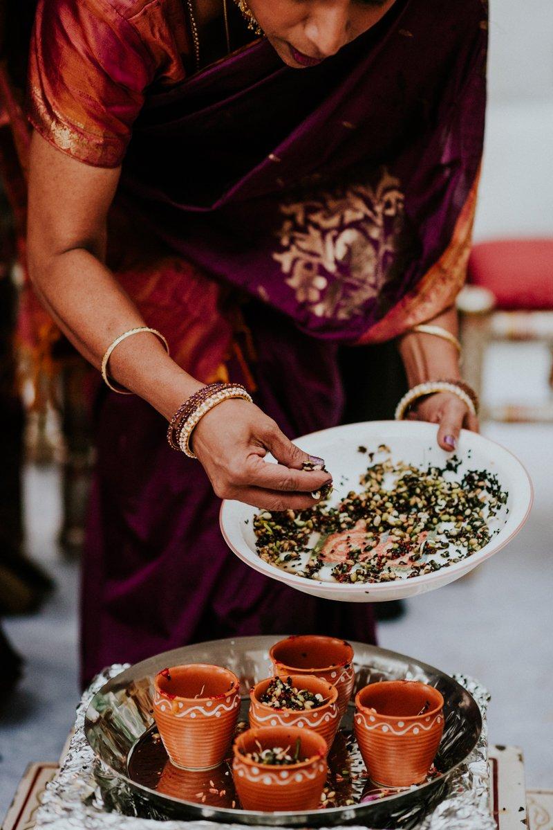 Indian Wedding Ceremony detail
